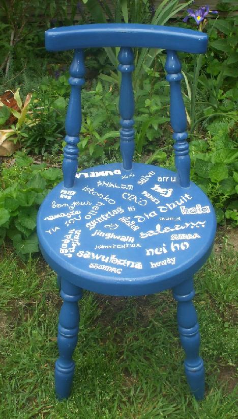 Do You Know How to Say Chair in Different Languages